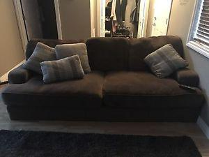 New fielding couch and ottoman perfect condition $
