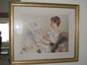 PICTURE OF A LADY FROM YORE !!