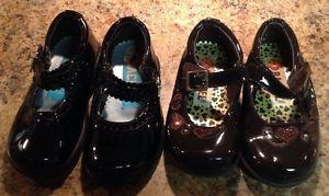 Rachel brand Mary Jane size 7 shoe brown left only