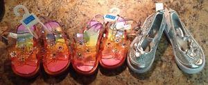 Sandals and shoes size 7 children's place brand new never