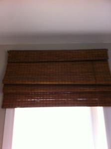 Set 2 Bamboo Shades