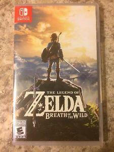 The Legend of Zelda: Breath of the Wild- Nintendo Switch
