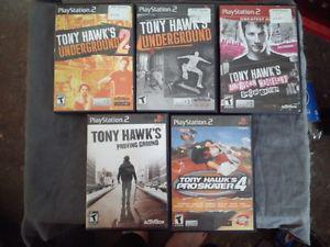 Tony Hawks PS2 / Xbox / Gamecube / Playstation