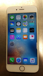 Unlocked iPhone gb Silver Excellent Condition