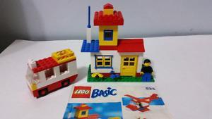 Vintage LEGO Basic set 525