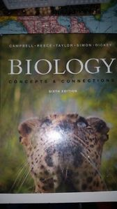 Wanted: Biology concepts and connections sixth edition