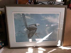 Wanted: Robert Bateman Print. The Air The Forest And The