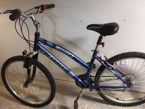 Women's Carrera 21 speed mountain bike, (26 Inch tires)