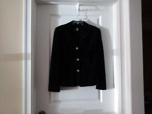 Women's Danier Black Suede/Leather Jacket- Size Small - Like