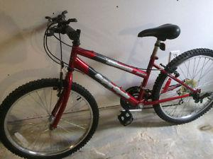 Women's Supercycle 18 speed mountain bike, (24 Inch tires)