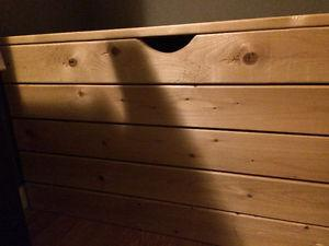 Wooden chest box or toy box