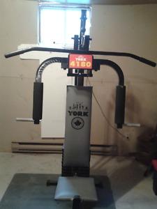 York Home Gym for sale