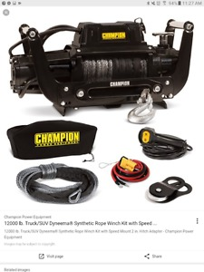 lbs winch with speed load mount