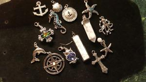 All new pendants/Charms not stamped
