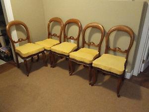 Antique Balloon Chairs.