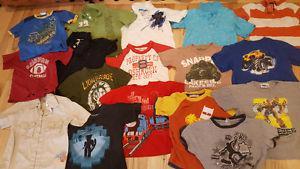 Big bag of size 4 boys clothes qa