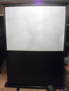 Ditigial Projector screen, self standing and collapsiblle