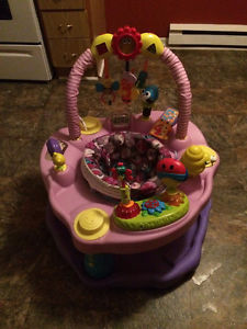 Exersaucer - Heights, Musical Toys, Washable Padding &