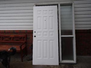 Exterior Door and Jam