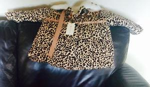 Girls coat new with tags, size 3/4.