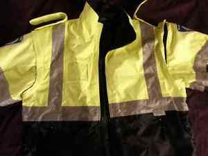 Hi-Vis 3Way Work Jacket