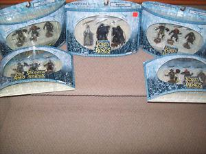 LORD OF THE RINGS HOBBIT ACTION FIGURES RINGWRAITHS