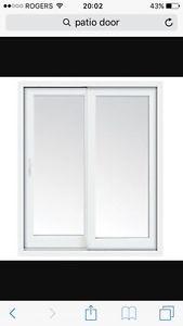 Looking for free patio door.