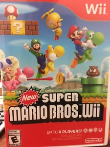 New Super Mario Brothers for Wii