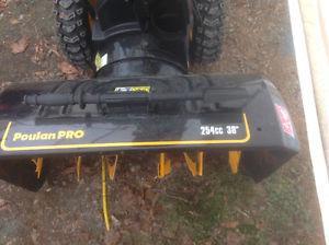 "Puolan Pro 30"" cut snow blower"