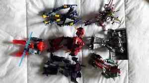 Transformers figures/3 graphic novels/comic book/mini