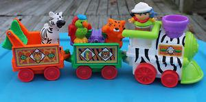 Vintage Fisher Price Little People Musical Circus Train