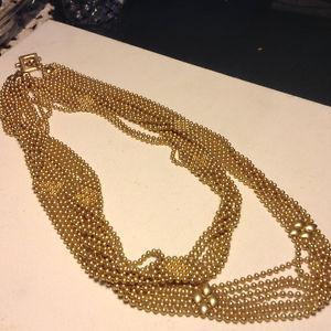 Vintage Polo Ralph Lauren Golden Necklace