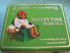 Vintage Tea Tin Box