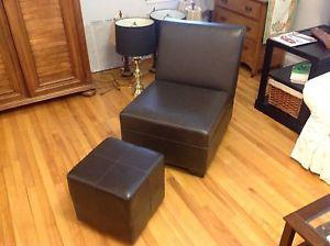 Wanted: Armless chair and ottoman
