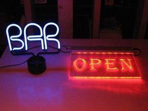 beer / bar signs