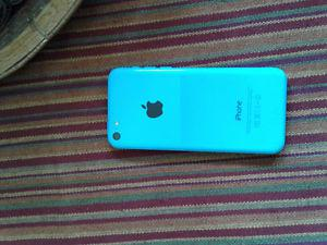 iPhone 5c Blue, great condition.