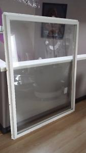 vinyl window