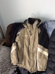 2 men's winter jacket for sale!! (25 for both)
