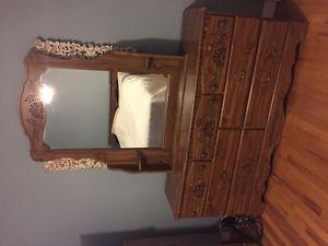 3 piece solid wood bedroom set