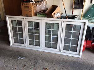 4 Section Colonial Grill Window