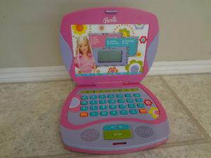 $40 - Barbie B-Book Laptop Interaction. Children Learning