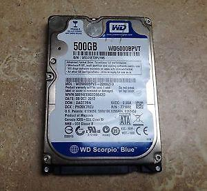 500 Gb hdd for laptops and gaming