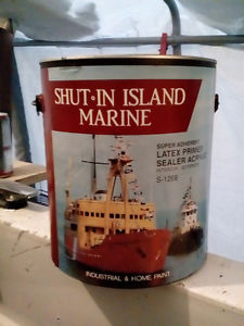 6 gallons of marine paint for sale  per gallon