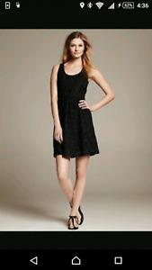BNWT BANANA REPUBLIC BLACK DRESS!!