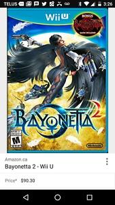 Bayonetta 2 w. 1 included