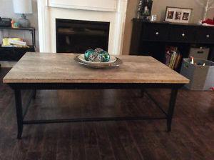Beautiful Marble top coffee table!