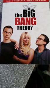 Big bang theory seasons 1-5