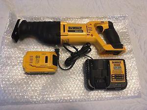 Brand new Dewalt 20v reciprocating saw package