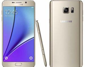 Brand new Samsung galaxy note5 32GB gold color