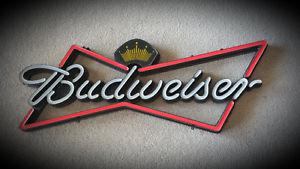 Budweiser & Bud Light signs